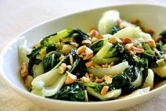 Bok Choy and Cashews