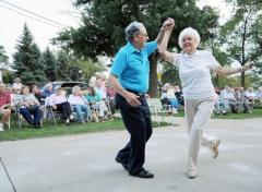 Dancing... a fun way to maintain strong bones.